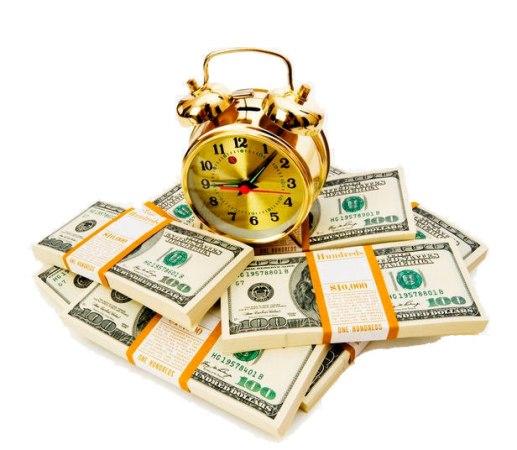 будильник денег